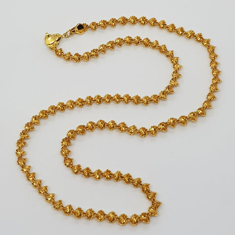 Napier Herringbone Long Necklace