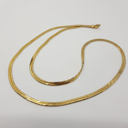 Monet Flat Gold Chain