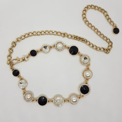 Diamond and Onyx Choker
