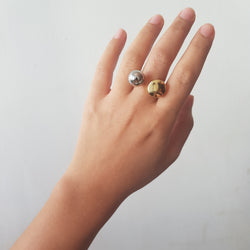 Two Toned Ring
