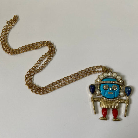 Tiki Necklace by KJL