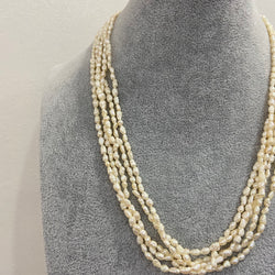 Five Layer Freshwater pearl Necklace