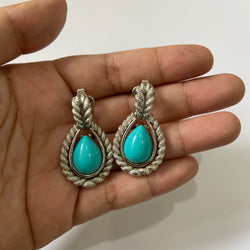 Turquoise Earrings by Avon