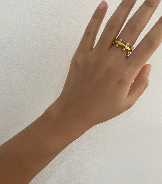 Havana Ring in gold