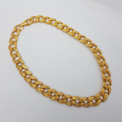 Napier Faux Pearl Gold Necklace