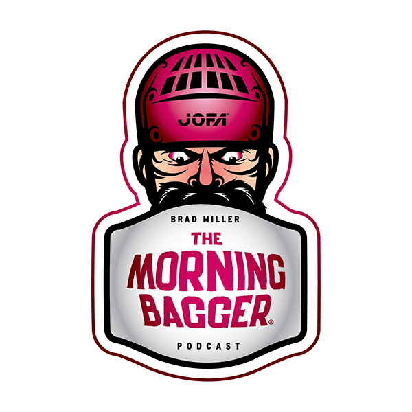 The Morning Bagger Podcast Logo - Hockey Podcast