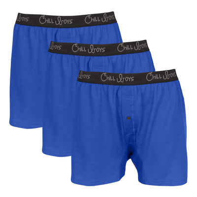3 pack blue boxers