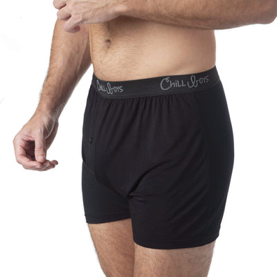 Chill Boys Soft Bamboo Boxers - Plush Luxury Men's Boxer Shorts