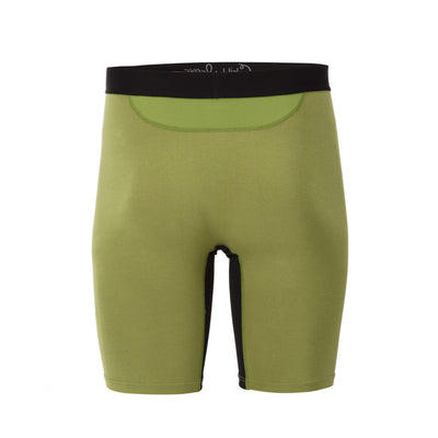 green bamboo boxer briefs, bamboo men's underwear