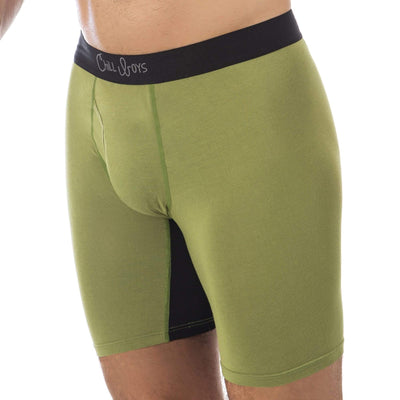 Soft Bamboo Boxer Briefs with Anti-Chafing Glide Zone