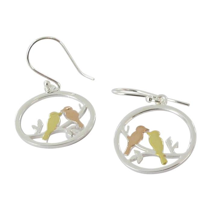 Lovebirds Drop Earring-Earring-MODA MEDINA