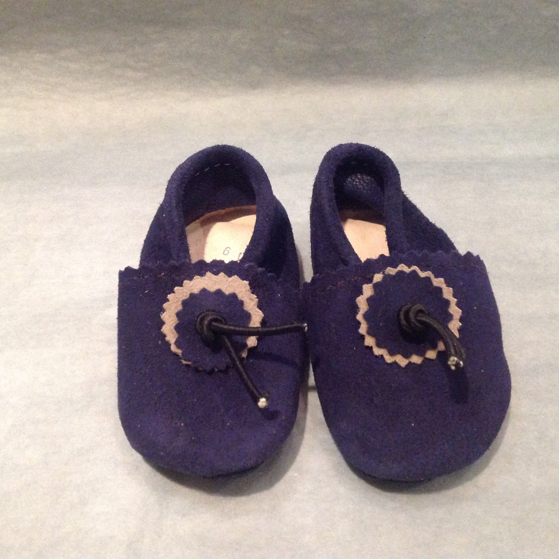 Baby Suede Slippers FF-Slippers-MODA MEDINA