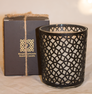 Côté Bougie leather Luminary FF-Candle-MODA MEDINA