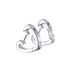 split HEART Earring - MODAMEDINA