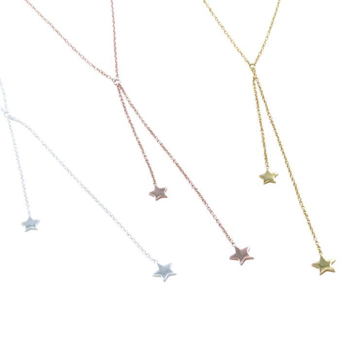Falling Star Necklace-Necklace-MODA MEDINA