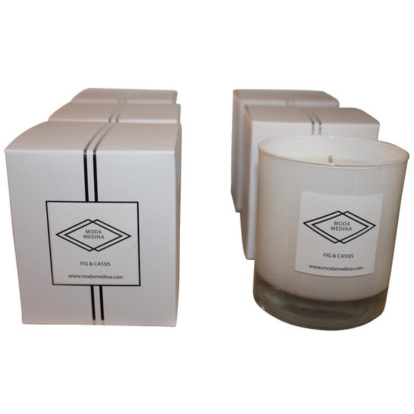 Boxed Candle Fig & Cassis - MODAMEDINA