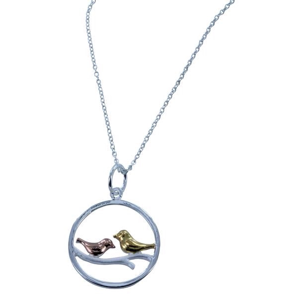 song bird Necklace-Necklace-MODA MEDINA