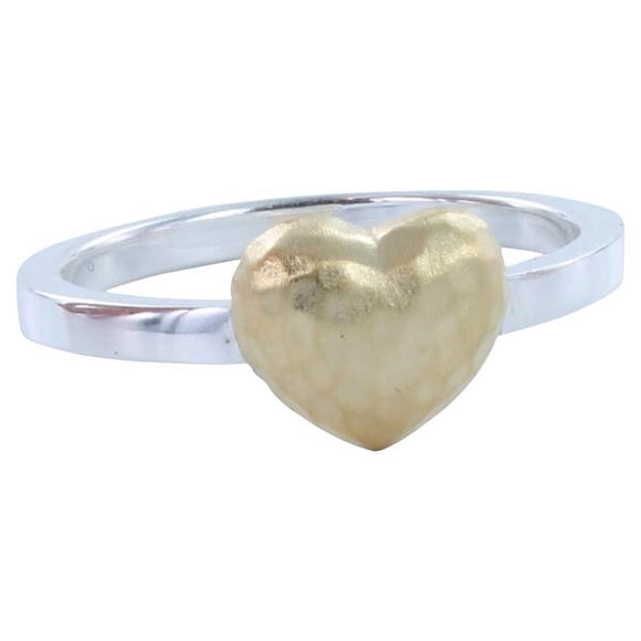 Heart Cushion Ring - MODAMEDINA