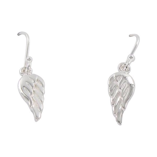 Angel Wing Drop Earring ff-Earring-MODA MEDINA