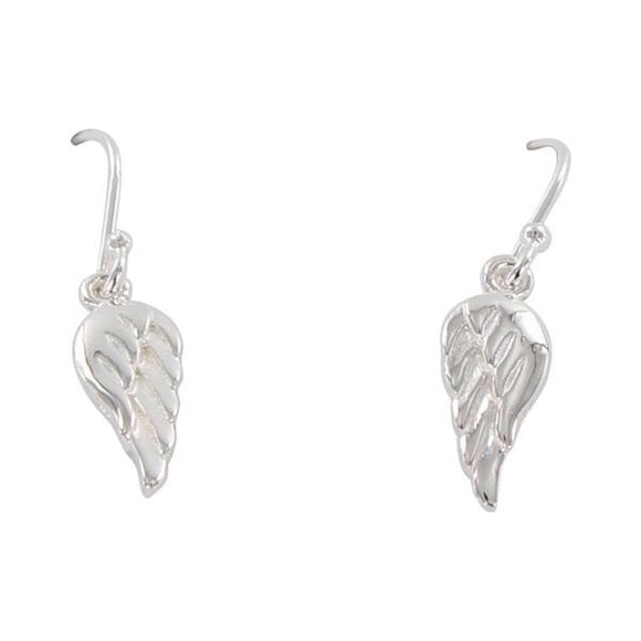 Angel Wing Drop Earring - MODAMEDINA