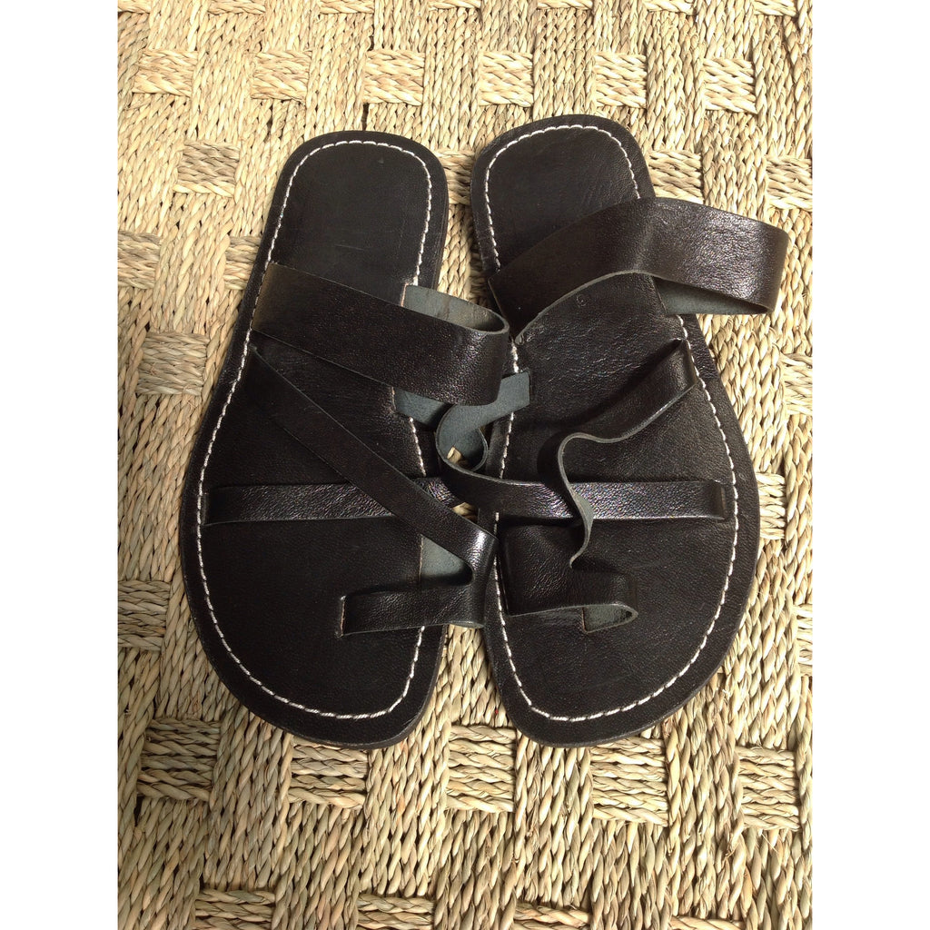 Men's crisscross sandals FF-sandal-MODA MEDINA