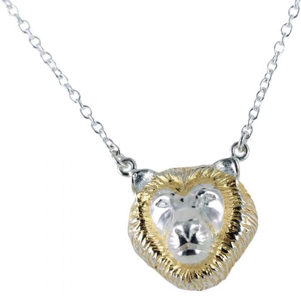 Lion pendant Necklace ff-Necklace-MODA MEDINA
