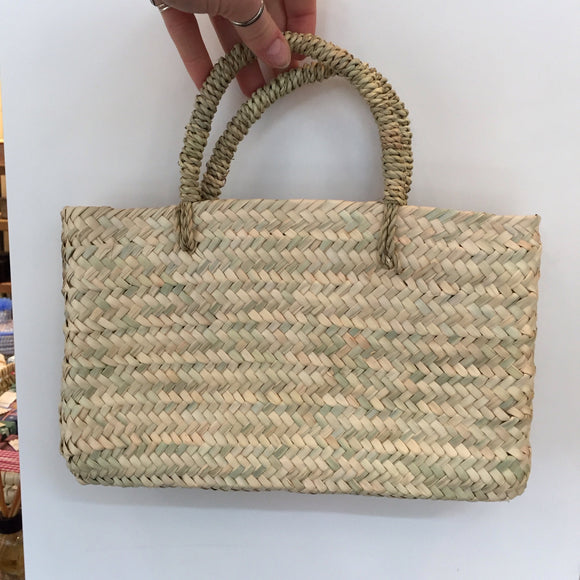 Mini flat bag SALE-Basket Bag-MODA MEDINA-Small-MODA MEDINA