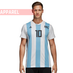 Messi T Shirt. Football fan jersey. Adidas. Buy online India. FIFA. The SweatShop.