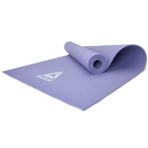 Ideal for yoga, Pilates and general ground exercise; the Reebok 4mm Yoga Mat strikes a middle-ground between comfort and stability. With a grippy non-slip texture, the mat increases traction during your poses for stronger, more effective workouts. 173 (L) x 61 Buy online India. Cod available a