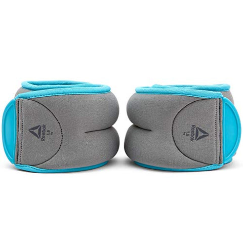 Reebok Ankle Weights 1.5Kg x 2 ( RAWT-11075BL )  https://thesweatshop.club/products/reebok-ankle-weights-1-5kg-x-2-rawt-11075bl  Helping to ramp up your workouts, Reebok Ankle Weights enhances bodyweight movements for more challenging training sessions. Comfortable, adjustable & secure, the pair of 1.5kg grey and blue ankle weights fit securely on the ankles thanks to their easily adjustable hook and loop closure. Buy online India.COD AVAILABLE.a
