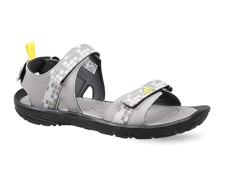 ADIDAS Men's Ediffin ii Outdoor Sandals (CM5956, Dove Grey, Silver Met…  https://thesweatshop.club/products/adidas-mens-ediffin-ii-outdoor-sandals-cm5956-dove-grey-silver-metallic-and-shock-yellow  A light yet well covered sandal with an interesting mix of materials & textures upper: interplay of textures with synthetic suede underlays & nubuck overlays.Buy online India.COD available.F