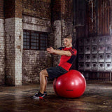 REEBOK STABILITY GYMBALL Red - 65cm (RAB-40017BL)  https://thesweatshop.club/products/reebok-stability-gymball-red-65cm-rab-40017bl  Reebok Gymball - Versatility for improved all-round fitness. Diameter 65cm Ideal for sit-ups, core strength, stability, and general fitness. Includes workout DVD and pump. Buy Online India. COD available d