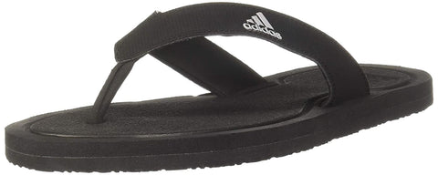 ADIDAS MEN'S SWIM STABILE SLIPPERS (CM6078, Core Black and Metal Grey)
