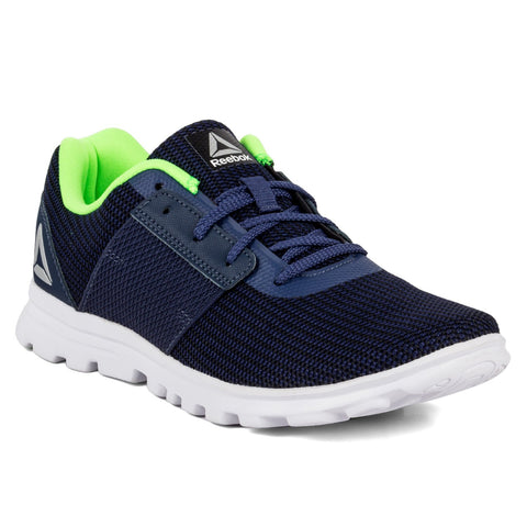 REEBOK CITY RUNNER RUNNING SHOES ( CN2095 ,Blue/Navy/Grn/Slvr/Wht )
