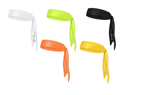 The Sweatshop Tie Headbands (Unisex Head Tie/Sports Headband)