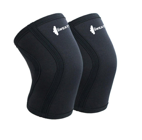 The SweatShop 7mm Neoprene Knee Sleeves