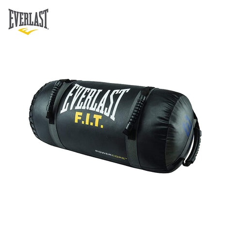 Everlast FIT Powercore Bag Black - 20lbs  https://thesweatshop.club/products/everlast-fit-powercore-bag-black-20lbs  The FIT Powercore bag is used to increase upper and lower body strength and explosiveness. Multiple handle positions allow user to execute countless high intensity interval training exercises Color Black/Yellow Size 20 lb Height 13 inches Length 31 inches.Buy online india.COD available. a