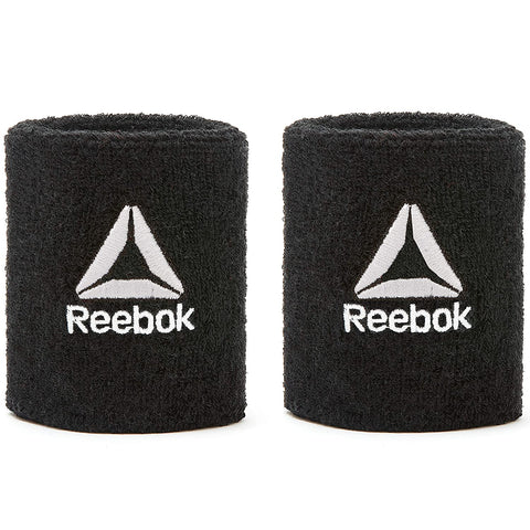 Reebok Sports Wristbands  https://thesweatshop.club/products/reebok-sports-wristbands  Reebok Sports Wristbands - Made from thick towelling material, the wrist sweatbands absorb sweat for reduced irritation. Easy to wash, the elasticated bands fit snug to your wrist for focussed training sessions. Contains 1 pair. Regular - 8cm Long - 12cm Colour Options : Black White Grey.buy online india.cod available…a