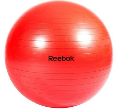REEBOK STABILITY GYMBALL Red - 65cm (RAB-40017BL)  https://thesweatshop.club/products/reebok-stability-gymball-red-65cm-rab-40017bl  Reebok Gymball - Versatility for improved all-round fitness. Diameter 65cm Ideal for sit-ups, core strength, stability, and general fitness. Includes workout DVD and pump. Buy Online India. COD available a