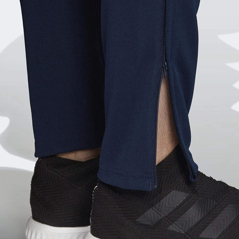 ADIDAS MEN'S SERENO 19 TRAINING PANTS ( DY3134, Collegiate Navy and White )