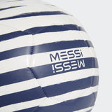 MESSI CLUB FOOTBALL A DURABLE ADIDAS BALL WITH THE MARK OF A GENIUS.  Messi logo on cover Requires inflation Buy Online India c