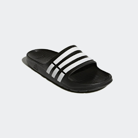 Adidas Men's Essentials Duramo Slides DURAMO SLIDES MINIMALIST SLIDES THAT CAN BE WORN ANYWHERE. .Buy online India e