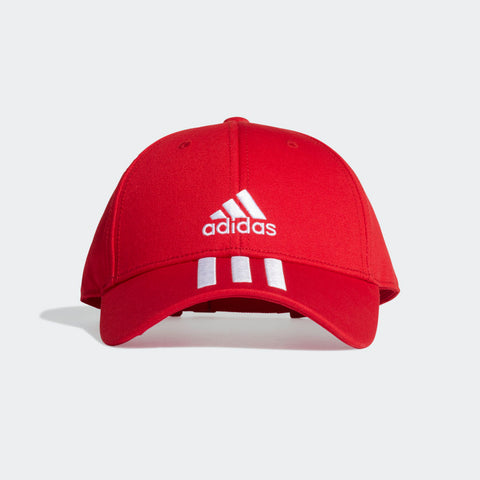 ADIDAS BASEBALL 3-STRIPES TWILL RED CAP A CLASSIC BASEBALL CAP WITH DOUBLE ADIDAS BRANDING. Just like the game itself, the baseball cap keeps getting better, bolder and more exciting. This fresh update brings a soft feel and built-in UV coverage to the classic design. Buy ONLINE INDIA.COD AVAILABLE a