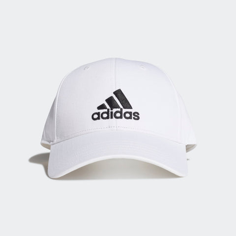 ADIDAS TRAINING BASEBALL CAP ( FK0890, WHITE / WHITE / BLACK )  https://thesweatshop.club/products/copy-of-adidas-ttraining-baseball-cap-fk0901-tech-indigo-tech-indigo-white  ADIDAS BASEBALL CAP A LIGHTWEIGHT CAP WITH AN ADJUSTABLE FIT. Top things off nicely with this classic Baseball Cap. Made with sunny days in mind, the soft fabric shields you from the sun's rays. An adidas Badge of Sport takes centre stage in front.100% cotton twill.Buy ONLINE INDIA.COD AVAILABLE A