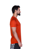 Brav Activewear Bamboo Plain Men's T Shirt - Tangy Red