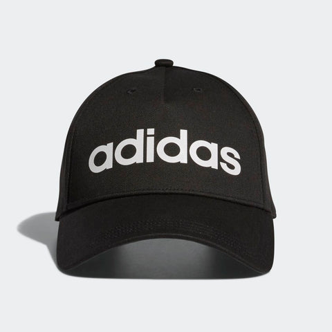 ADIDAS DAILY CAP A HAT THAT SPELLS OUT ADIDAS PRIDE. Put your adidas pride front and centre in this cap. Simple and sporty, this snapback hat is made in cotton twill for a casual look and feel. a