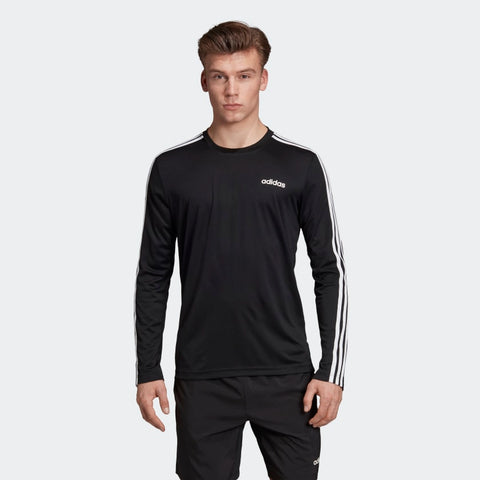 ADIDAS MEN'S DESIGNED 2 MOVE CLIMALITE 3-STRIPES LONG SLEEVES TEE  https://thesweatshop.club/products/adidas-mens-designed-2-move-climalite-3-stripes-long-sleeves-tee  ADIDAS DESIGNED 2 MOVE CLIMALITE 3-STRIPES TEE A LONG SLEEVE T-SHIRT FOR DEMANDING CONDITIONS. Stay comfortable through high-intensity workouts and long days of cardio. This long sleeve t-shirt is made from sweat-wicking fabric that helps you stay dry. .BUY ONLINE INDIA.COD AVAILABLE.a