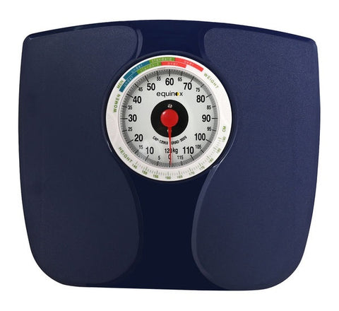 EQUINOX PERSONAL WEIGHING SCALE-MECHANICAL EQ-BR-9808 https://thesweatshop.club/products/equinox-personal-weighing-scale-mechanical-eq-br-9808 EQUINOX MECHANICAL WEIGHING SCALE Accurate readings Durable construction Easy to read Comes with Zero Adjuster Easy to operate and reliable results