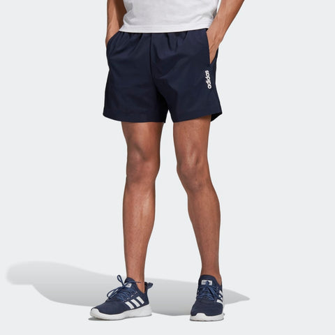 ADIDAS MEN'S LIFESTYLE ESSENTIALS PLAIN CHELSEA SHORTS - LEGEND INK  https://thesweatshop.club/products/adidas-mens-design-2-move-classics-shorts-1  ADIDAS ESSENTIALS PLAIN CHELSEA SHORTS-SLEEK SHORTS MADE FOR THE ATHLETE AT REST. Recover & relax after a long gym session in these comfortable shorts. A small contrast logo decorates the leg to create a subtle sporty look. They're made of a stretchy plain weave fabric for a smooth feel. .bUY ONLINE INDIA.COD AVAILABLE… a