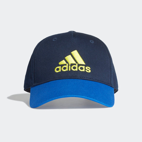 ADIDAS TRAINING GRAPHIC CAP (COLLEGIATE NAVY / BLUE / SHOCK YELLOW ,FN…  https://thesweatshop.club/products/adidas-training-graphic-cap-collegiate-navy-blue-shock-yellow-fn0998  ADIDAS GRAPHIC CAP A CASUAL CAP WITH UV PROTECTION. This snapback cap keeps your eyes shaded with a pre-curved brim. It's made from durable cotton twill that features built-in UV protection. Product code: FN0998.Buy online India.COD Available.A